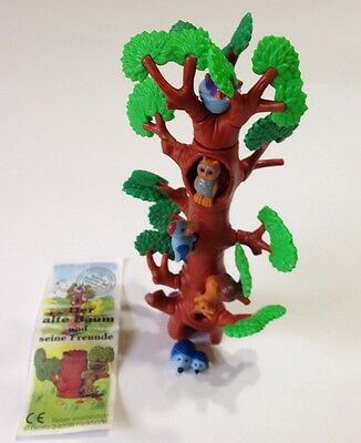 Kinder Surprise Toy TREE Building 3D Puzzle With Forest Animals Birds