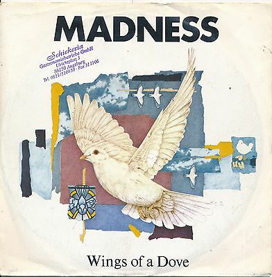 "Wings Of A Dove - Madness - Single 7"" Vinyl 90/09"
