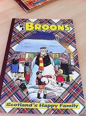 Vintage 'The Broons' Comic Book Annual from 2001 - Good condition