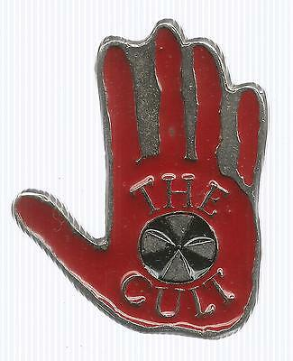 Metal Hand Tour Pin by The Cult (1992, Post Back)