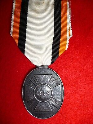 Prussia, Campaign Medal 1813-15, Non-Combatant's type, obverse dated 1815