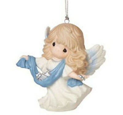 Precious Moments Christmas 161035 2016 Angel ornament guide us to perfect light