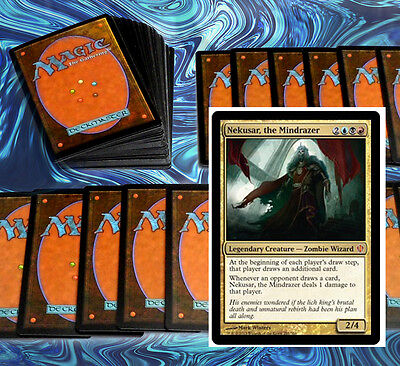 mtg BLUE RED BLACK GRIXIS DECK Magic the Gathering nekusar geth steel hellkite