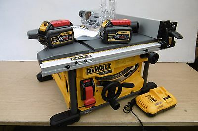 Brand New Dewalt 54V Flexvolt Dcs7485T2 210Mm Table Saw 6 Ah Kit