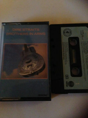 Dire Straits - Brothers In Arms - Tape Cassette Album
