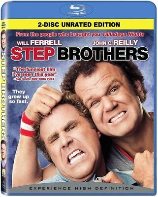 Step Brothers [New Blu-ray] Ac-3/Dolby Digital, Dolby, Dubbed, Rated , Subtitl