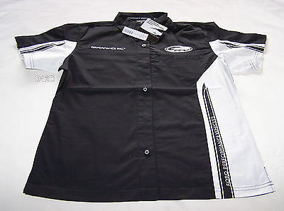 Ford Performance Vehicles FPV Ladies Black Dress Shirt Shirt Size 12 New