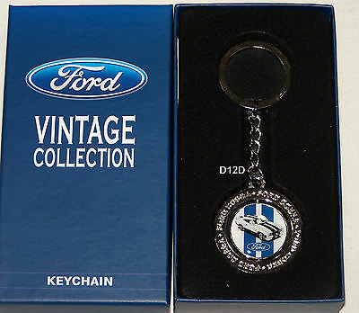 Ford Vintage Collection Falcon XC Cobra Metal Key Ring New Keyring