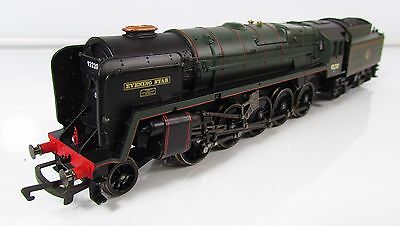 OO Gauge Hornby Class 9F 2-10-0 Evening Star 92220 BR Green Loco UNBOXED