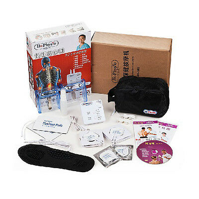 NEW Dr. HO's Digital Meridian Physiotherapy Muscle Massage Set Machine 2016