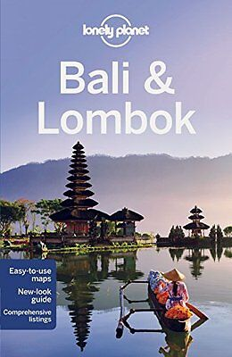 Bali & Lombok Lonely Planet Travel Guide 2015 BRAND NEW 9781743213896