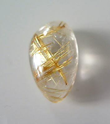 Splendide Quartz Rutile Or 10,48 Carats