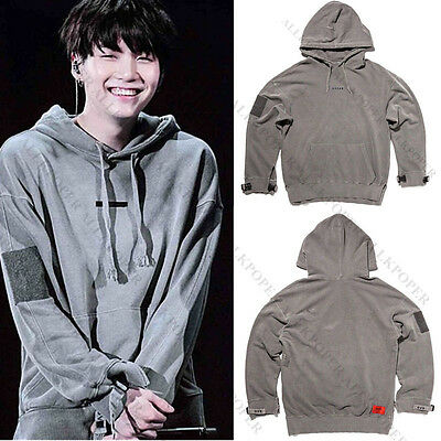 Kpop BTS SUGA Cap Hoodie Wings Sweatershirt Sweater Pullover Bangtan Boys Coat