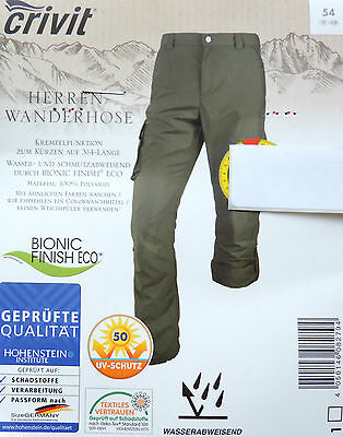 herren wanderhose trekkinghose lang hose sporthose 48 50. Black Bedroom Furniture Sets. Home Design Ideas