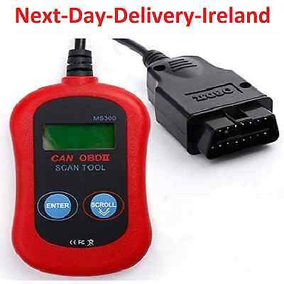 MaxiScan MS300 OBD2 EOBD II CAN BUS Code Reader Engine Diagnostic Scanner Tool