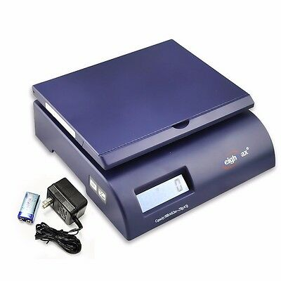 WeighMax 2822-75-Blue Digital Shipping Postal Scale with Batteries and AC adapte
