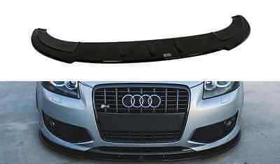 Cup Spoilerlippe Front Diffusor Carbon Audi A3 S3 8P 2006-2008