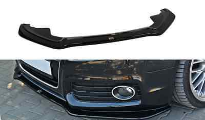 Cup Spoilerlippe Front Diffusor Schwarz Audi A5 S-LINE