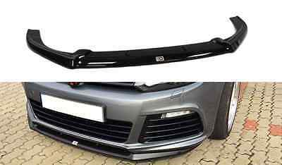 Cup Spoilerlippe Front Diffusor VW Golf 6 VI R CUPRA Look