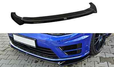 Cup Spoilerlippe Front Diffusor VW Golf VII R ver2 struktur + ABE