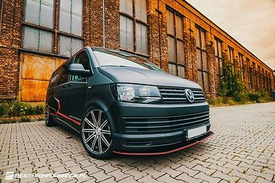 Cup Spoilerlippe Front Diffusor VW T6 v.1
