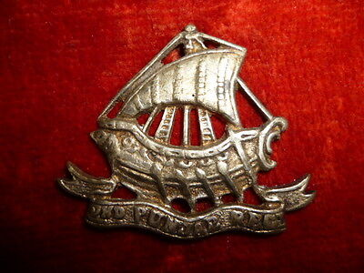 2nd Punjab Regiment Cap Badge, Indian Silver - Colonial British India