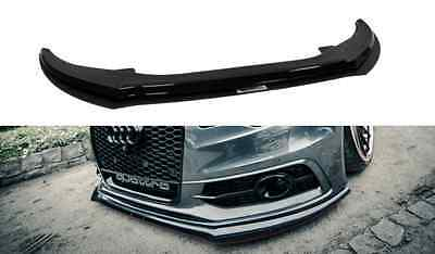 Racing Cup Spoilerlippe Front Diffusor Spoiler Audi A6 C7 S-LINE 2 Lippen