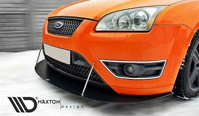 Racing Cup Spoilerlippe Front Diffusor Spoiler Ford Focus II ST vor Facelift