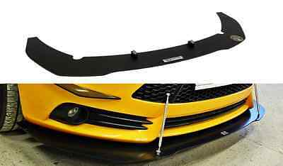 Racing Cup Spoilerlippe Front Diffusor Spoiler Ford Focus ST MK3 VERSION 1