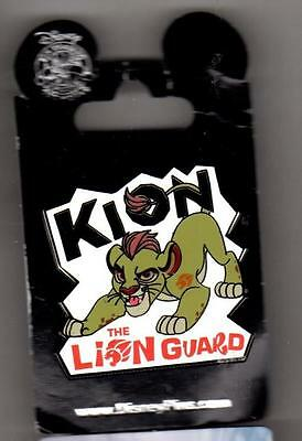 Disney The Lion Guard Animated Series Logo with Lion Cub Kion Pin New on Card