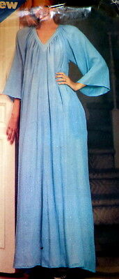 LOVELY VTG 1970s CAFTAN Sewing Pattern S-M-L