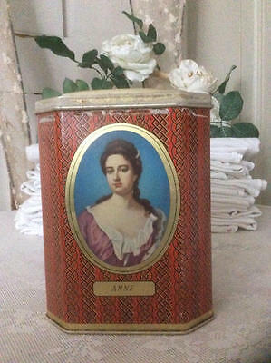~*Vintage Rowntree's Queen Anne Cocoa Powder Tin*~