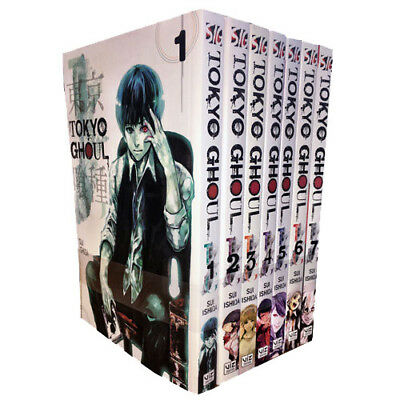 Tokyo Ghoul Collection Vol (1-7) 7 Books Set By Sui Ishida Paperback Brand New