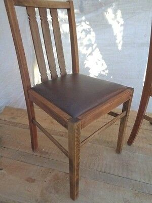 Stunning Pair Of Oak Chairs By Ercol Beautiful