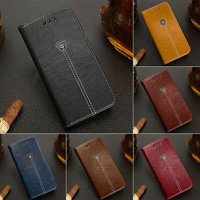 Luxury Magnetic Flip Cover Stand Wallet Leather Case For Apple iPhone 6 7 Plus