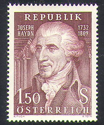 Austria 1959 Haydn/Composer/Music/People/Entertainment 1v (n38518)