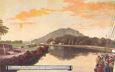 London & North Western Railway Official Postcard. Cemetery Hill, Inverness, from