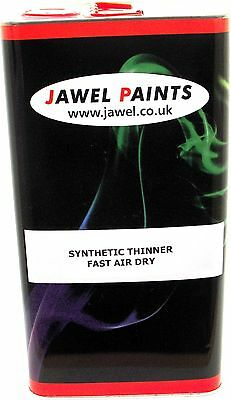 Synthetic Paint and Primer Thinners Suitable for most synthetic paint 5lt