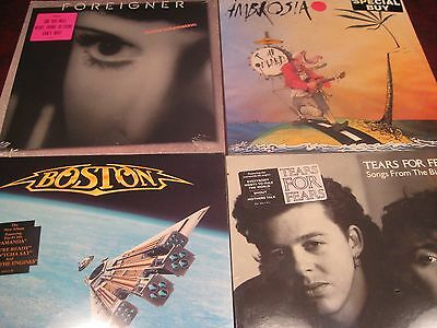 Foreigner Boston Tears For Fears Ambrosia 1980's Releases One Time Special Price