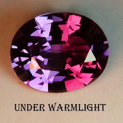 4.65ct.AWESOME RUSSIAN COLOR CHANGE ALEXANDRITE OVAL GEM