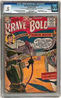 Brave and the Bold #5 CGC 0.5 (C-OW)