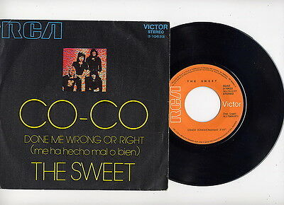 The Sweet Spanish 45 Ps Co-Co
