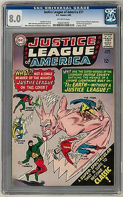 Justice League of America #37 CGC 8.0 (OW) *0262234002*
