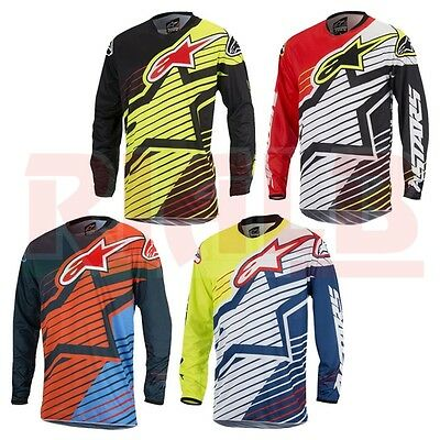 Maglia Moto Cross Off-road Enduro Alpinestars RACER BRAAP Jersey 2017