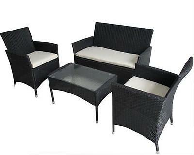 poly rattan gartenm bel gartengarnitur balkonm bel set gm4pra braun eur 101 00 picclick de. Black Bedroom Furniture Sets. Home Design Ideas