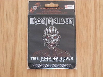 Iron Maiden - The Book Of Souls (New) Sew On W-Patch Official Band Merchandise