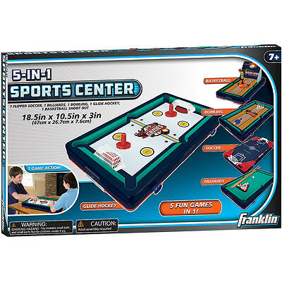Franklin 5-in-1 Sports Center Tabletop Game