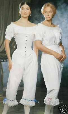 Corset Drawers Chemise PATTERN 2Sew Civil War Simplicity 9769 Corsett 6 8 10 12