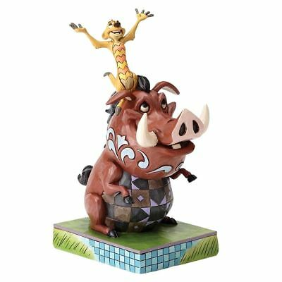 Official Lion King Timon and Pumbaa Carefree Cahoots Figurine - Boxed Gift