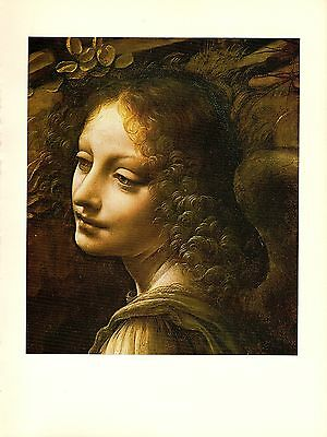 "1974 Vintage LEONARDO DA VINCI /""DETAIL VIRGIN /& ST ANNE/"" COLOR offset Lithograph"